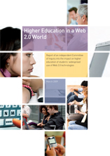 Higher Education in a Web 2.0 World: Cover