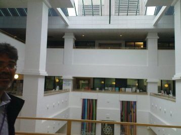 Glyndwr University Library light well