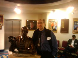 Me, and the founder of the Magic Circle