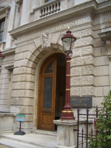 Royal Chemistry Society London headquarters