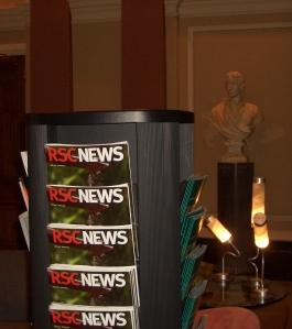 RSC newsletters inside Burlington House
