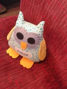 #OAowl on the train to Birmingham